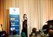 powerful female motivational and predominant speaker