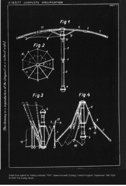 Umbrella Patent
