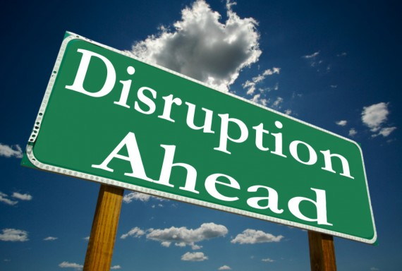 disruption-ahead