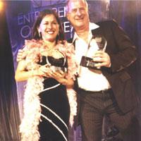 Tania de Jong & Michael Gudinski